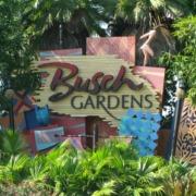 Bush Gardens Sign